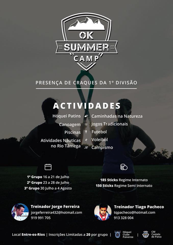 Cartaz OK Summer Camp 2018