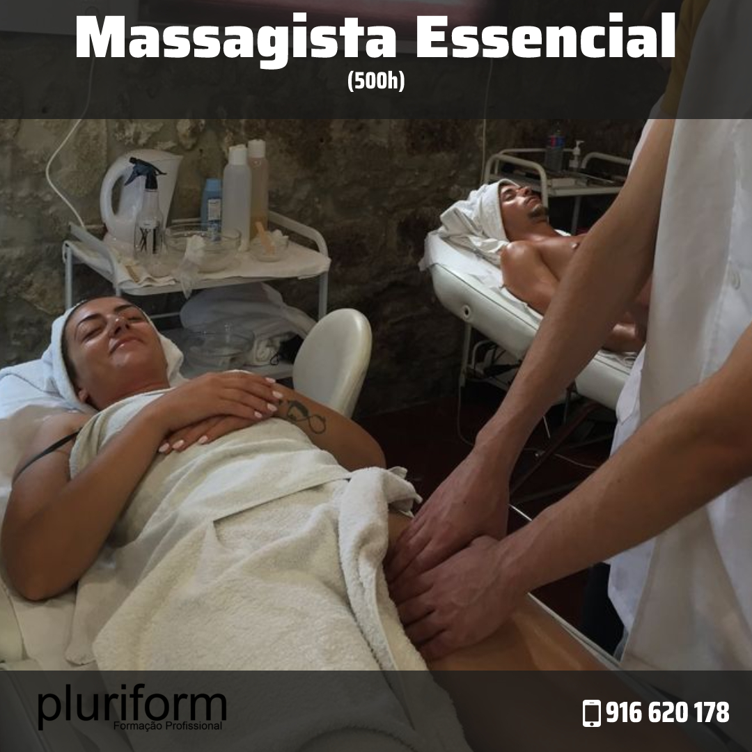 Curso Massagista Essencial